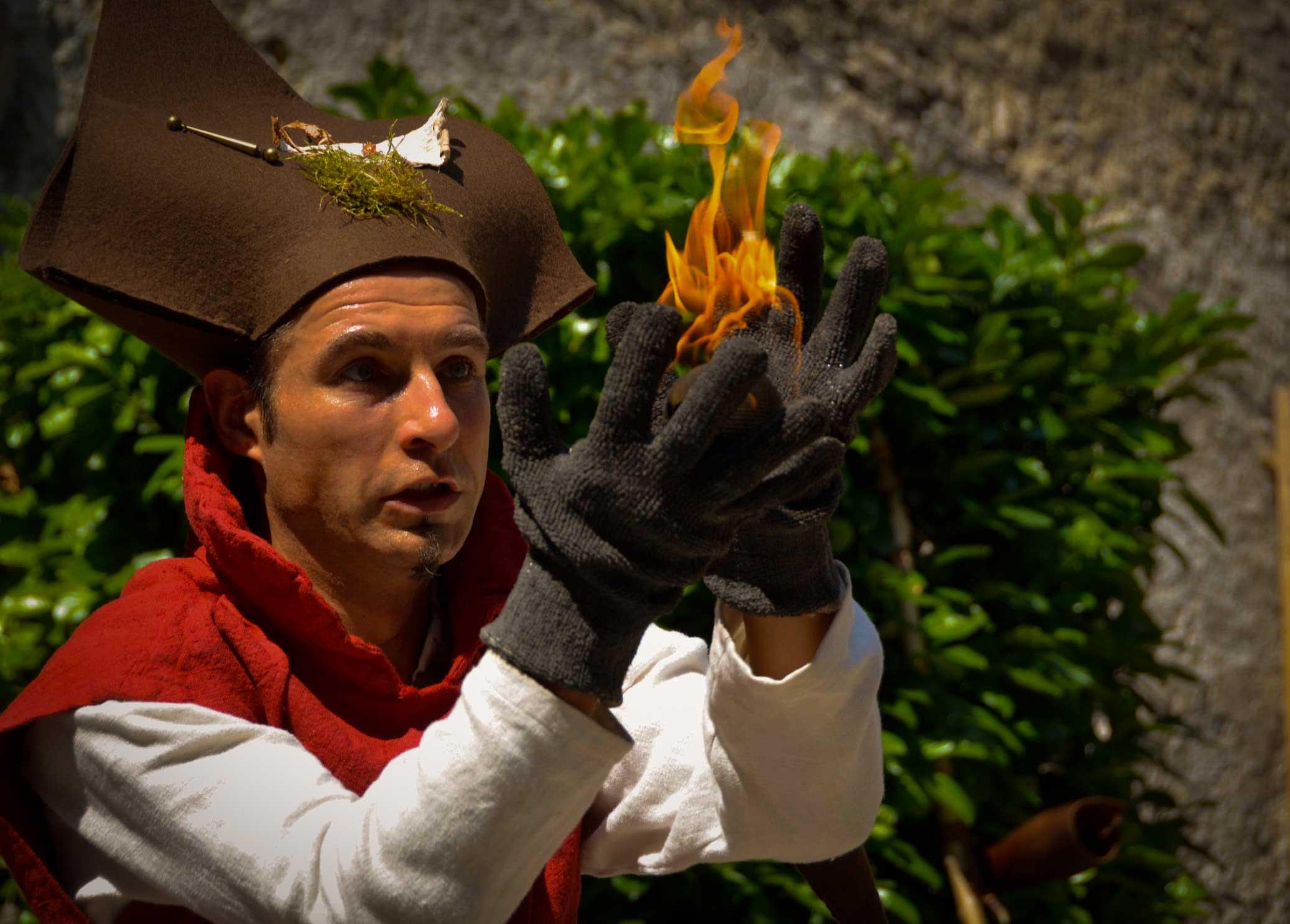 Flamme au Moyen-Âge