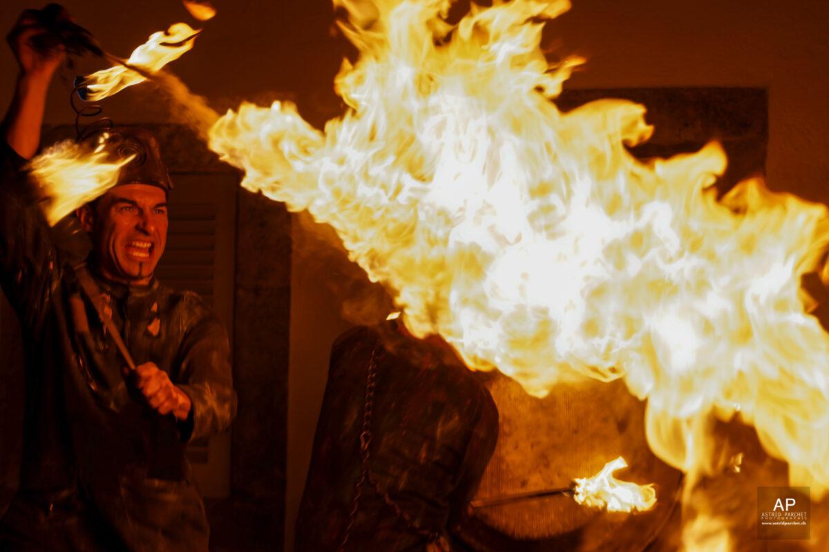 Flammes - Lycopodium