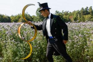 L'Azuré, jongleur